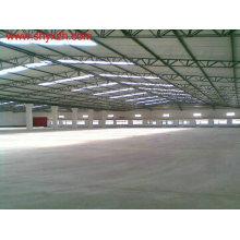 Estructura de estructura de acero para taller de fábrica