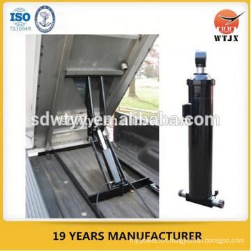 Cilindro hidráulico telescópico / cilindro hidráulico de aceite para camión volquete