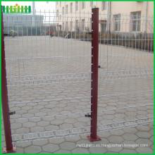Precio de fábrica barato y fino malla de malla 75x100mm curvy soldada valla de malla de alambre