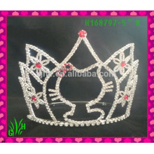 Venta al por mayor La última corona de la tiara de la joyería, tiara de la boda corona tiara congelada