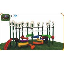 JQC1281 Plastik Kinder Spielplatz / Kinder kombiniert Folie / Vergnügungspark