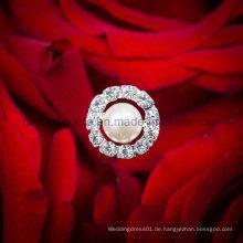 Perlen-Brautrhinestone-Brosche-Mittelstück-Hochzeits-Blumenstrauß-Schmucksachen