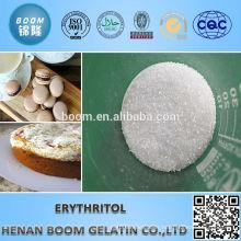 Food grade granulated erythritol