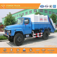 DONGFENG 4x2 8cbm rear loader garbage truck