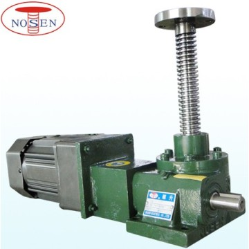 Design screw jack lift system with  motor