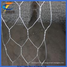 Rede de arame de Gabion para a parede de retenção da cesta de fio com boa qualidade