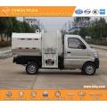 mini side loader garbage truck CHANGAN euro5 gasoline