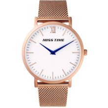Lady Japan Movt Quartz Genuine Leather Watch