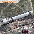 Maxtoch HIDX12 Rechargeable Hid Flashlight 85w 18650 Li-ion Pack