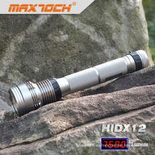 Maxtoch HIDX12 recargable linterna 85w 18650 Li-ion Pack de Hid