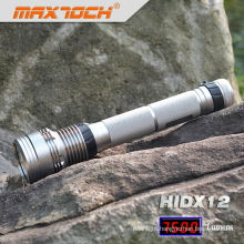 Maxtoch HIDX12 Super Bright 6600mAh Battery Hid Flashlight 85W With Filter Cover