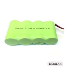 Батарея Ni-MH аккумулятора 4,8 в AAsize батареи 2000mah аккумуляторная батарея lr03 щелочная батарея AAA 1.5 V батареи