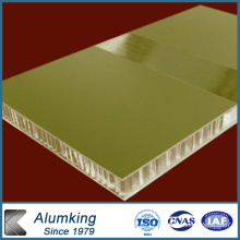 Coated Aluminum Honeycomb Panels for Curtain Wall