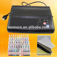 HOT Black Tattoo Transfer Copier Printer Machine Thermal Stencil Paper Maker