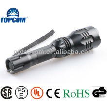 High Power CREE LED Flashlight / High Power Torch avec batterie 18650