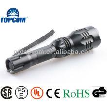 High Power CREE LED Flashlight / High Power Torch avec batterie 18650