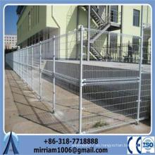 Doble bucle de metal de protección de valla de alambre / doble hilo de protección valla