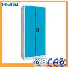 Armoire en acier de bureau laminée à froid adaptée aux besoins du client / classeur de 2 portes