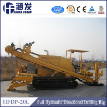 China Manufacturer Cheap Price Trenchless Underground Pipe Laying Machine, 20t HDD Horizontal Directional Drilling Rig