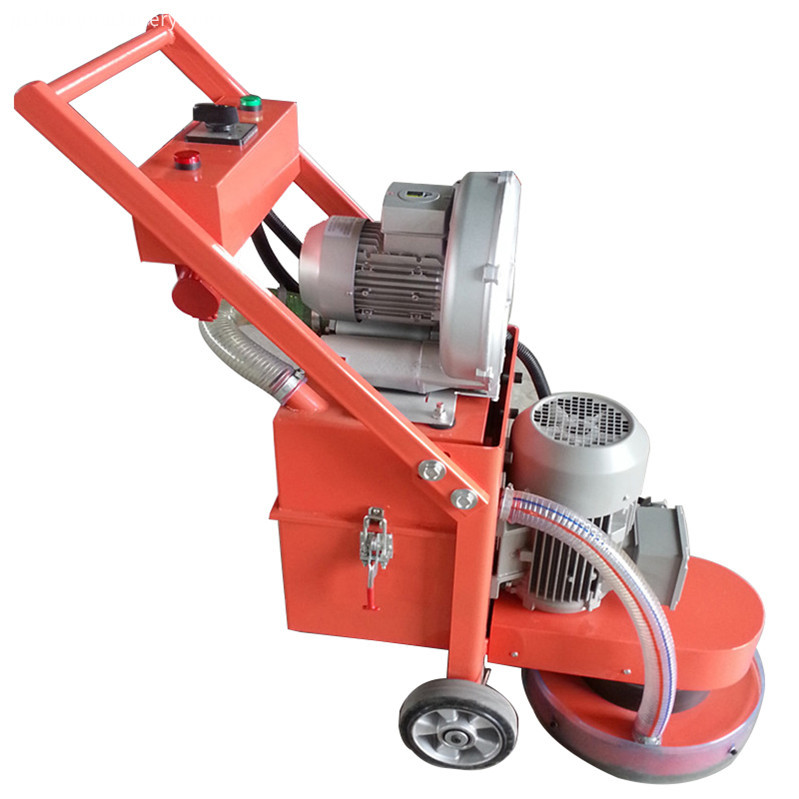 Floor grinding machine have 2 types: 1. Floor Grinder with vacuum cleaner, working no dust. 2. Floor Grinder with water tank, cau working for floor grinding and polishing. Function Floor grinding, coarse concrete floor burnishing, old epoxy floor renovation, sealed curing floor polishing, marble ground maintenance. Application: 1. floor industry :epoxy , wear-resistant floor, curing floor,penetrating floor,artistic floor ect. 2.stone industry: polishing and maintenance for various stone such as marble granite. Main scope: Concrete Grinding machines, Floor Polishing Machines, Road Line Marking Machines, Truck Cranes, Road Rollers, Excavators, Concrete Leveling Machines, Power Trowels and other Construction machinery . Jining oking tec co.,ltd, established in 2010, is a professional manufacturer engaged in the research, development, production, sale and service of Concrete Grinding machines, Floor Polishing Machines, Road Line Marking Machines, Truck Cranes, Road Rollers, Excavators, Concrete Leveling Machines, Power Trowels and other Construction machinery . We are located in Jining city,Shandong province with convenient transportation access. Dedicated to strict quality control and thoughtful customer service, our experienced staff members are always available to discuss your requirements and ensure full customer satisfaction. In recent years, we have introduced a number of advanced production equipment, and also have an excellent production team and a complete quality assurance system to ensure that each batch of goods is delivered to customers in a timely and high quality. We also have an excellent management team, experienced technical staffs and professional sales team to solve all problems you encountered before and after sales. In addition, we have obtained I S O 9 0 0 1:2 0 1 5 certificates. Selling well in all cities and provinces around China, our products are also exported to clients in such countries and regions as United States, Europe,Australia, Southeast Asia,Russia,the Middle East,Africa. We also welcome OEM and ODM orders. Whether selecting a current product from our catalog or seeking engineering assistance for your application, you can talk to our customer service center about your sourcing requirements. OK-300 Floor Grinding Machine