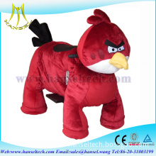 Hansel motorized plush riding animals electrical toy animal rides for malls