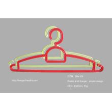 Multifunktionale Kunststoff Kleiderbügel, schlichtes Design aus Kunststoff Kleiderbügel, billige Aufhänger für den Großhandel