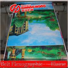 Manija de la máquina de impresión flexográfica de la bolsa de papel / del bolso de compras