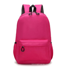 Blank Bulk OEM Custom Cheap Canvas Bag Primary Middle School Backpack for Students