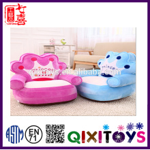 ICTI Factory Stuffed Plush Baby Sitting Chair Plush Animal Sofa Chair Folding Chair Sofa Bed