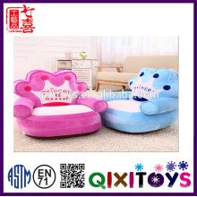 ICTI Fábrica De Pelúcia Recheado Do Bebê Cadeira De Assento De Pelúcia Animal Sofá Cadeira Dobrável Cadeira Sofá Cama