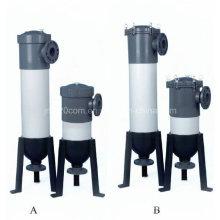 Boîtier de filtre à sac en plastique pour système de traitement de l'eau