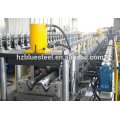Hydraulic PLC System Control Metal Steel Highway Guardrail Sheet Roll Forming Machine With Gear Box Transmission
