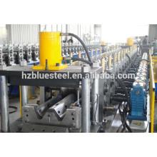 Hidráulica PLC Sistema de control de acero metálico Highway Guardrail Hoja de laminado de la máquina con caja de engranajes de transmisión