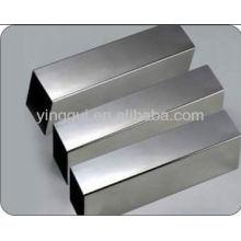 2024 tuyau carré sans soudure en alliage d'aluminium