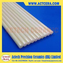 99% / 99.5 ejes y barras de cerámica de alúmina de alta pureza de Al2O3