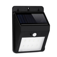 Waterproof Solar Power Wall Light With PIR Motion Sensor