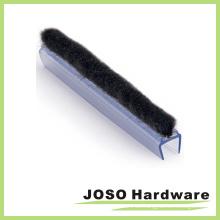 Lámina de sellado del cepillo del barrido del panel de cristal (SG232)