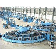 Machine de tuyau rond soudée à haute fréquence ERW