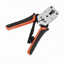 Cable coaxial de compresión de mano Herramienta de engaste (ST-200R)