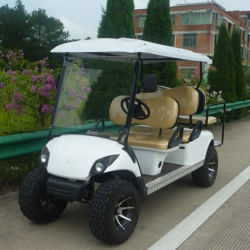 Gasbedrijf Off-road Golf Cart 4 Person