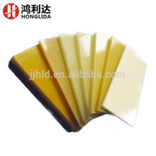 Hoja de fibra de vidrio de superficie protectora