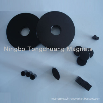 Aimants NdFeB de revêtement époxy noir