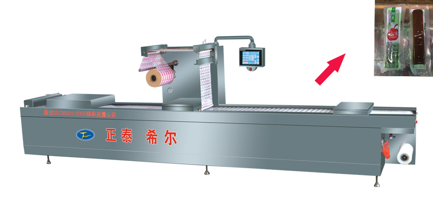 Chicken Meat Series Stretch Film Coat Forming Packer Machine