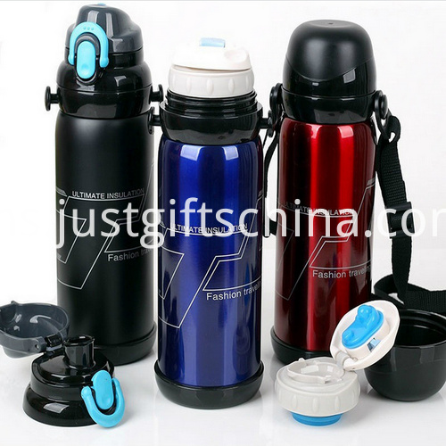 Promotional 800ml Stainless Outdoors Sports Bottles_3