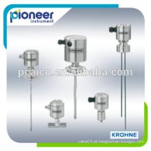Krohne LS 7200/7201, LS 7210/7211, LS7200 / / 7201 / LS 7210/7211 / LS 7220/7221 / LS 7230 / LS 7231 Medidores higiênicos de nível