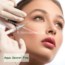 HA Dermal Filler Injection sous les yeux
