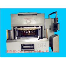 Máquina automática de la soldadura del calor del panel de la puerta de China