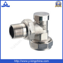 Angle radiator Valve with Plating (YD-3008)