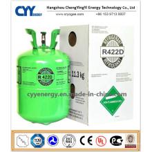 Gaz réfrigérant (R134A, R404A, R410A, R422D, R507) R422D