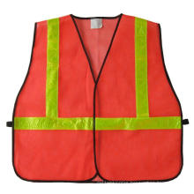 Reflective Vest with Mesh Fabric